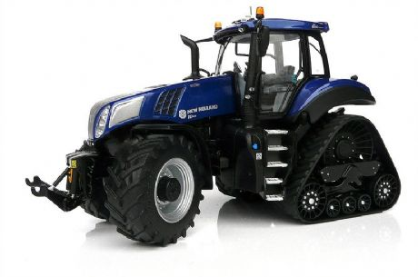 MarGe Models New Holland T8.435 Blue Power SmartTrax Tractor (1:32)
